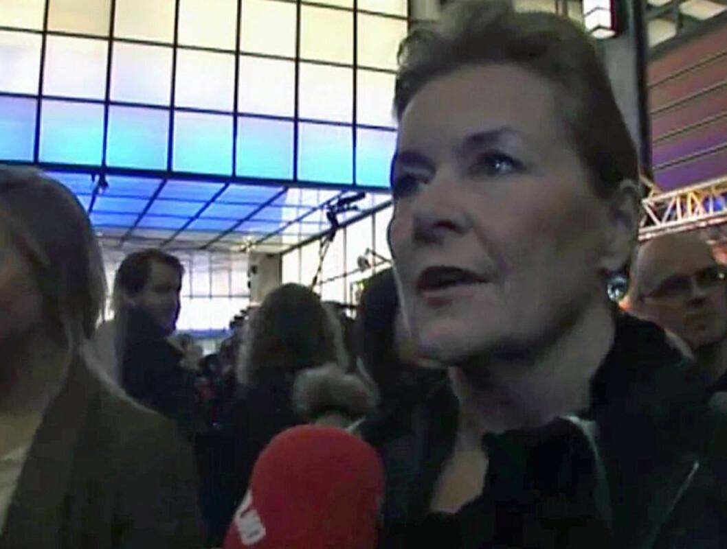 VIL HA ETABLERTE: - Man har jo Helene Bøksle og Hanne Sørvaag og slikt. Men man har mange ukjente med også, og det er jo en fin måte for de ukjente å komme fram på. Men jeg kjenner at det kan bli litt mange ukjente, sier Elisabeth Andreassen til Seh Foto: Anders Myhren/Seher.no