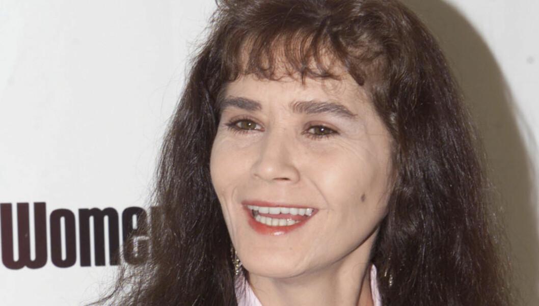 ELDRE: Skuespiller Maria Schneider kjempet mor kreften lenge, men måtte til slutt gi tapt. Her på en lunsj i Beverly Hills i 1999.  Foto: Reuters