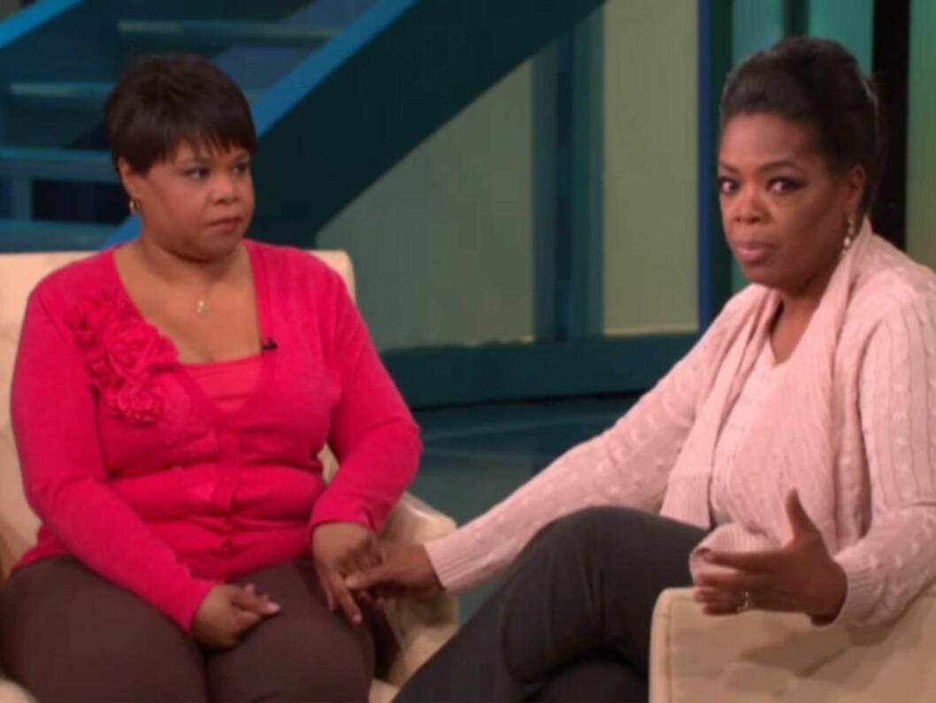 SØSTRE: I går kom nyheten om at Oprah Winfrey har en halvsøster som heter Patricia.  Foto: Stella Pictures