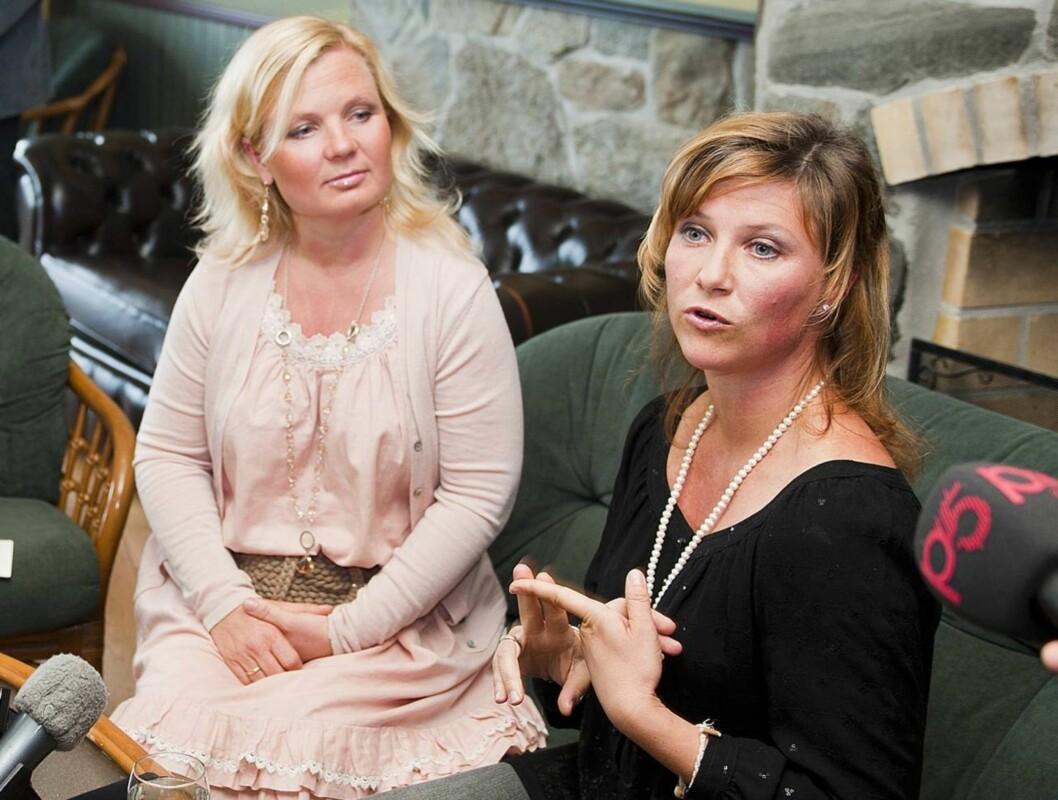ENGLESKOLE-GRÜNDERNE: Elisabeth Sandøy og prinsesse Märha Louise. Foto: SCANPIX