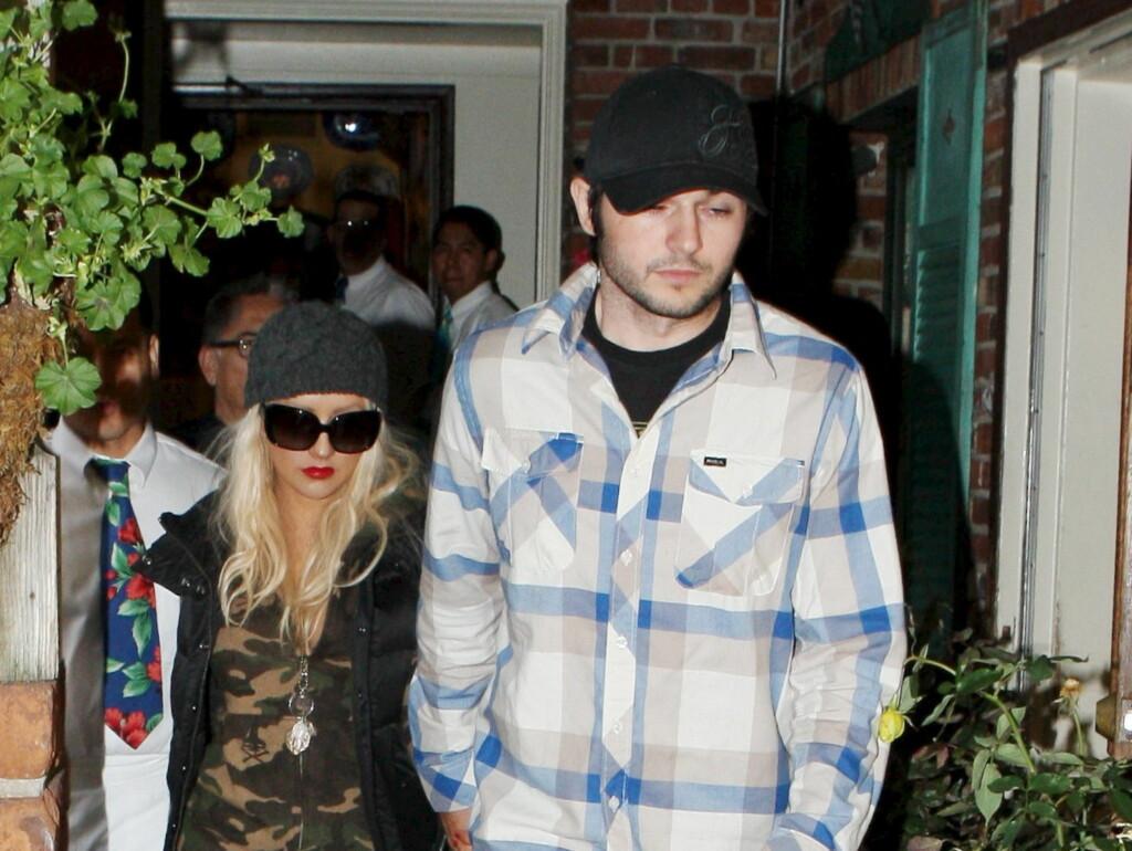 FLYTTET INN: Christina Aguileras kjæreste Matt Rutler har allerede flyttet inn. Foto: All Over Press