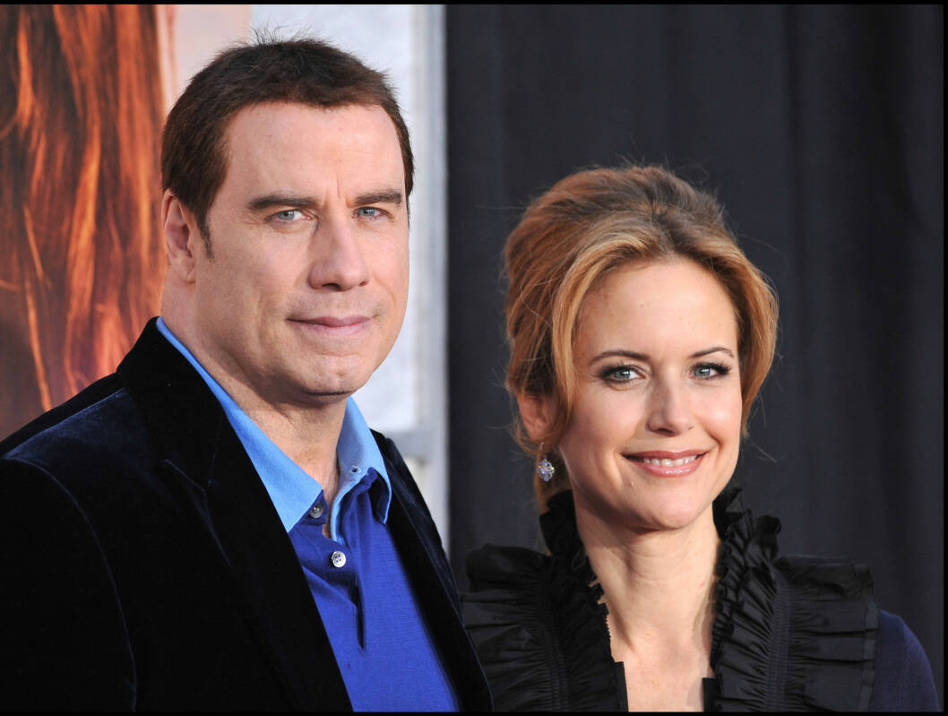 NY START: John Travolta og Kelly Preston har fått en ny start etter fødselen av lille Benjamin. Foto: wenn.com