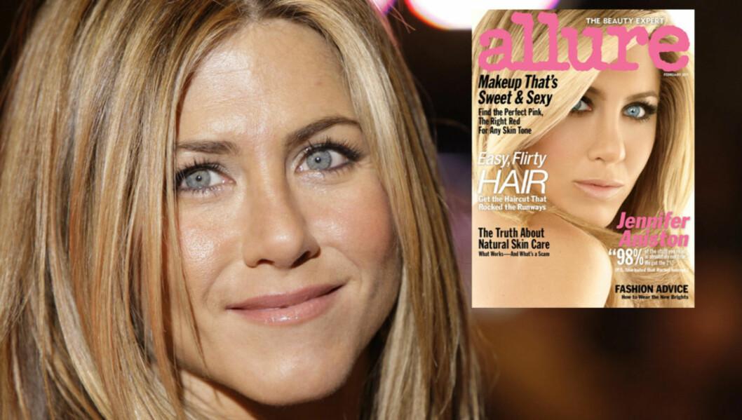 VISER ALT: Skuespiller Jennifer Aniston legger ikke mye i mellom i sitt nyeste intervju...