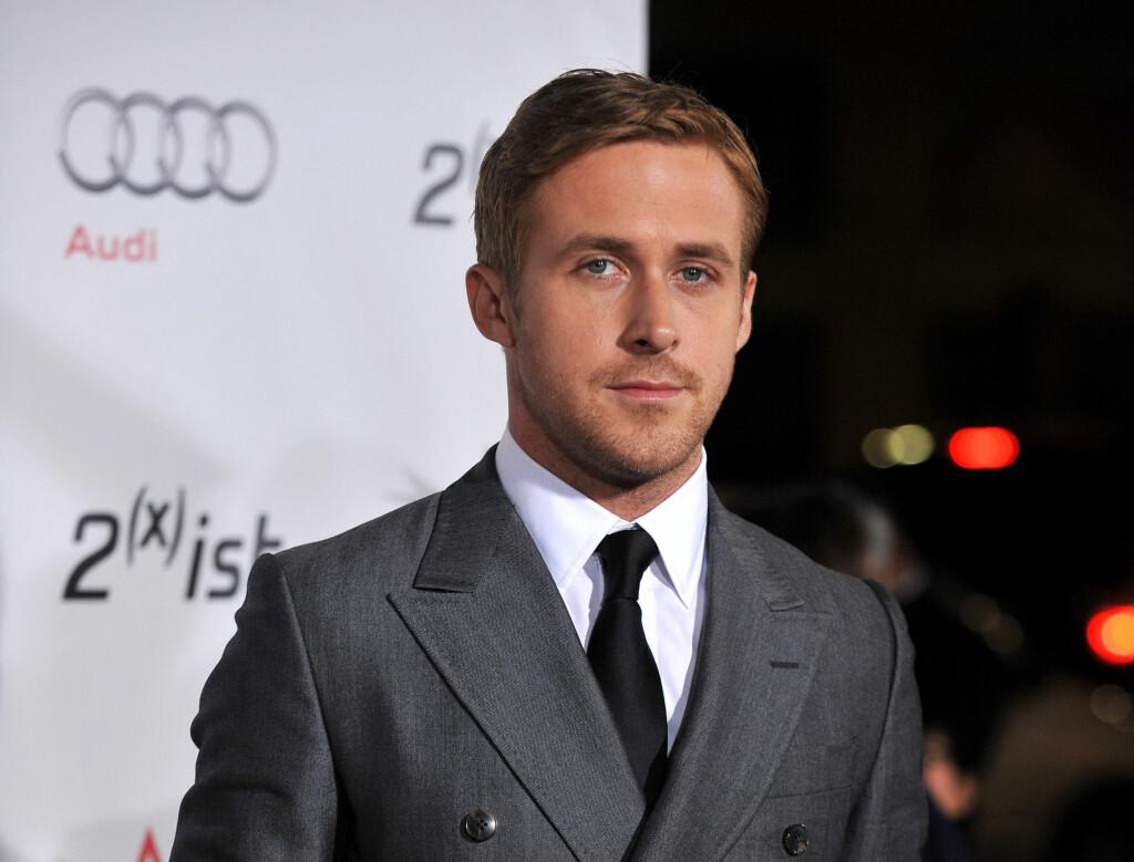 FORSØKER Å IKKE VÆRE MED I FOR MANGE FILMER: Ryan Gosling orker ikke å se seg selv på hverken TV eller på film. Da blir han nemlig kvalm. Foto: Stella Pictures