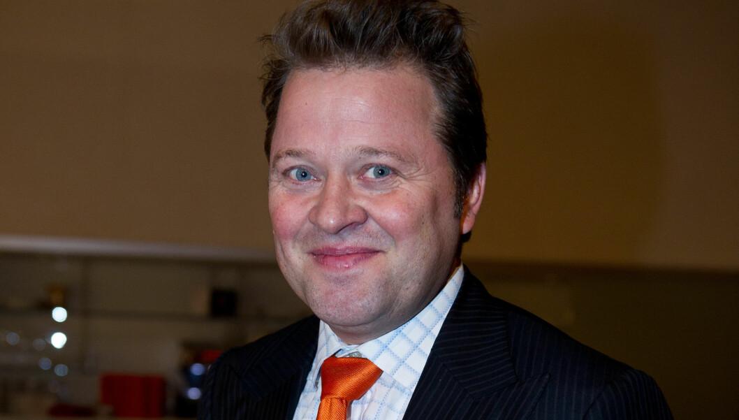 <strong>HUMOR:</strong> Tv-fjes Arne Hjeltnes skal gå forsiktig fram med sparingen.  Foto: Stella Pictures