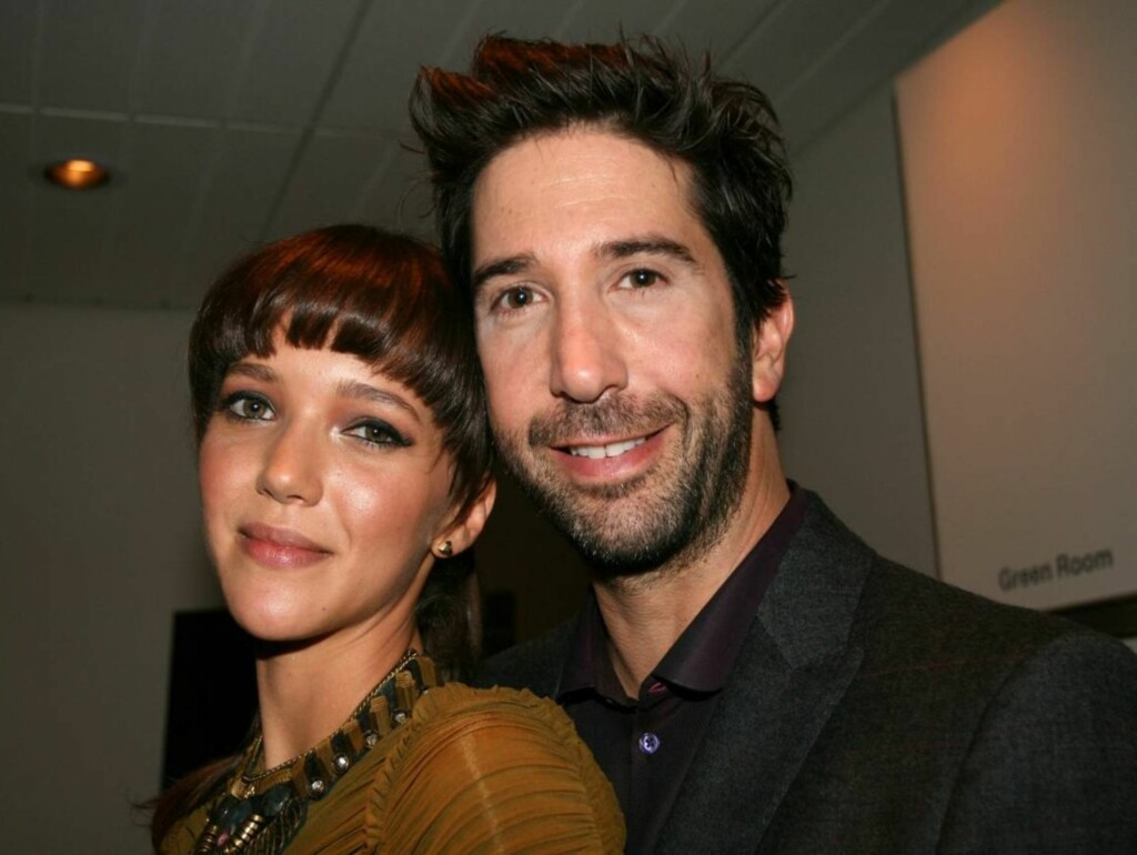 BLIR FORELDRE: Zoe Buckman og David Schwimmer. Foto: All Over Press