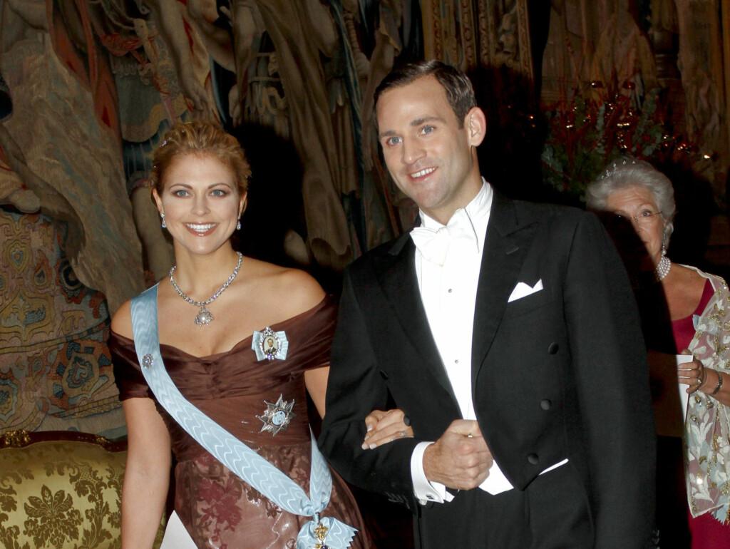 TAPTE PRINSESSEN: Jonas Bergströms forlovelse med svenskenes prinsesse Madeleine, etter at norske jenta Tora Uppstrøm Berg stod frem i media og hevdet hun hadde tilbragt en natt med ham. Kort tid etter var forlovelsen over. Foto: SCANPIX