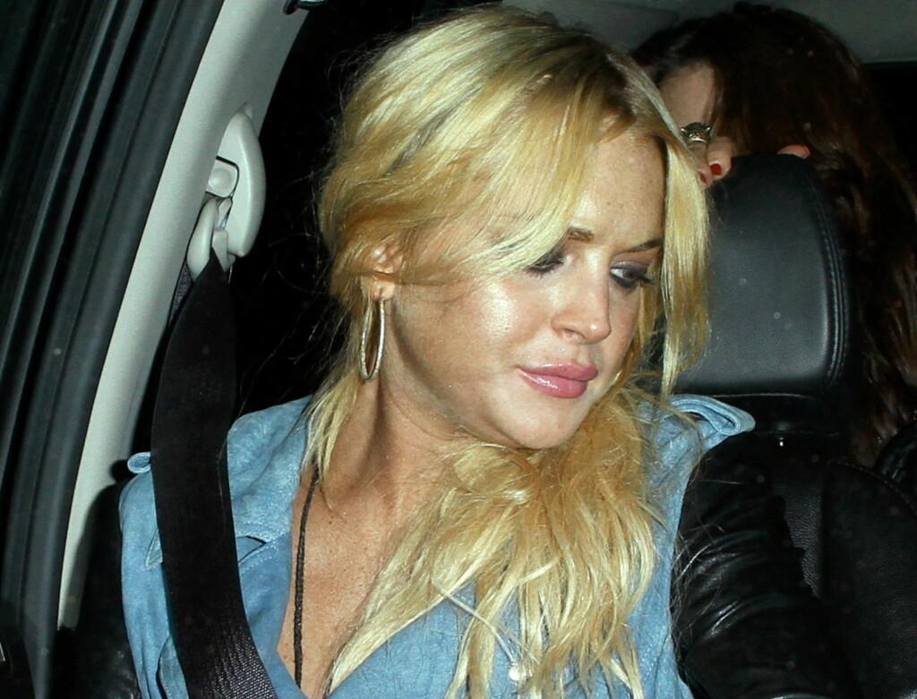 OVERFALL: Lindsay Lohan skal ha overfalt en kvinnelig ansatt ved Betty Ford-klinikken. Foto: All Over Press