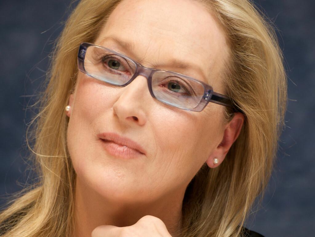 - GREIER IKKE VIRKE NATURLIG!: Meryl Streep (59). Foto: All Over Press