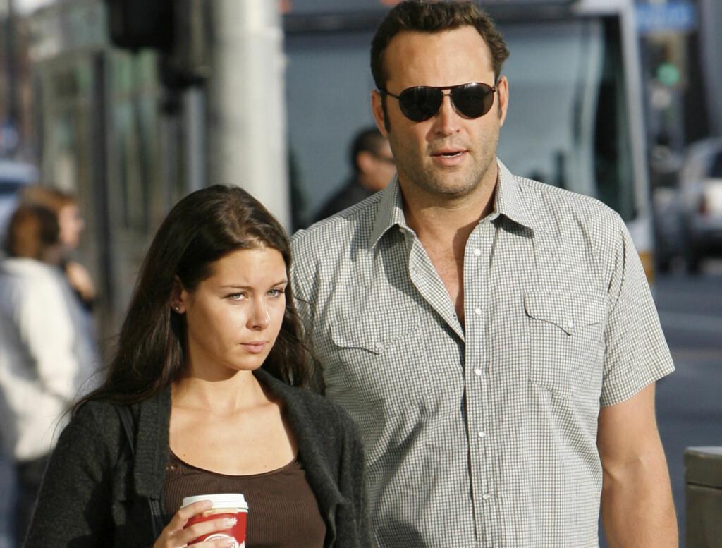 FORELDRE: Vince Vaughn og hans kone Kayla Weber ble foreldre til en liten datter på lørdag. Foto: Stella Pictures