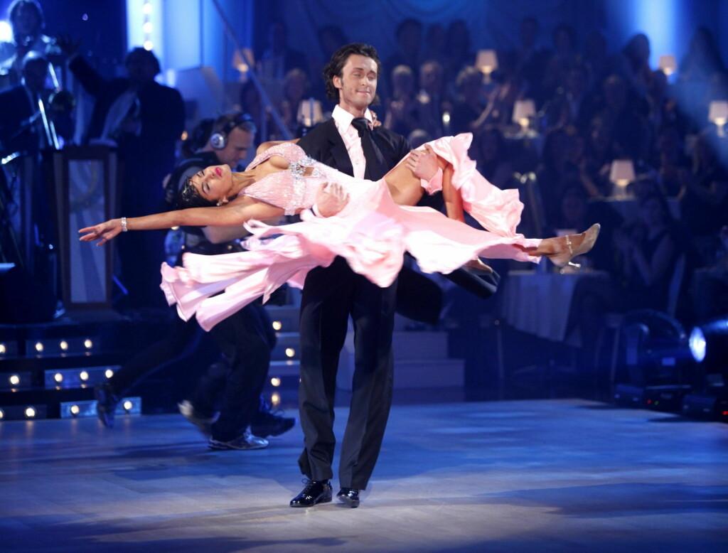 VISTE SEG FREM;: Aylar Lie og Egor Filipenko imponerte på dansegulvet i fjorårets «Skal vi danse». Snart begynner castingen til den neste utgaven av programmet. Foto: Scanpix