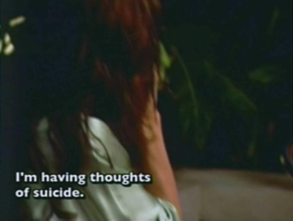 SJOKKERTE SEERNE: Her sjokkerer Janice Dickinson TV-seerne med å si at hun vurderer selvmord i TV-serien «Celebrity rehab» Foto: Stella Pictures