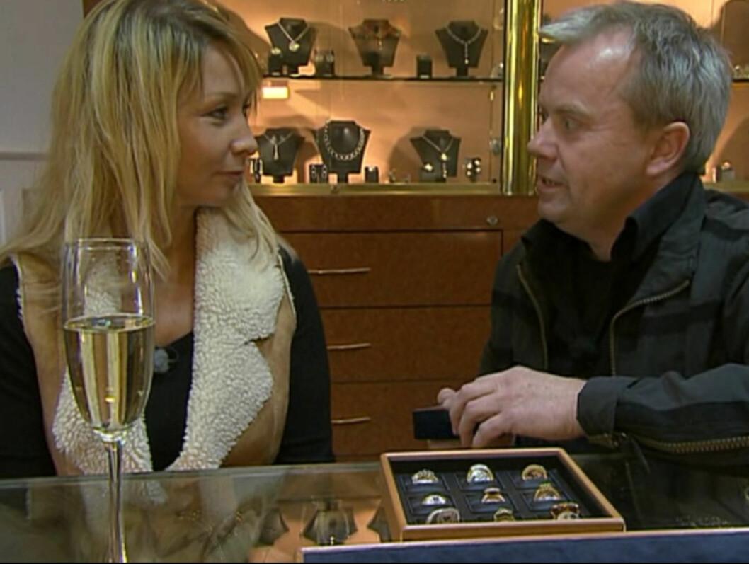 SA NEI: Mari Edvardsen sa nei til «Jakten»-bonden Jostein Sundby  (bildet). Nå har hun funnet tilbake til eks-kjæresten. Foto: TV 2