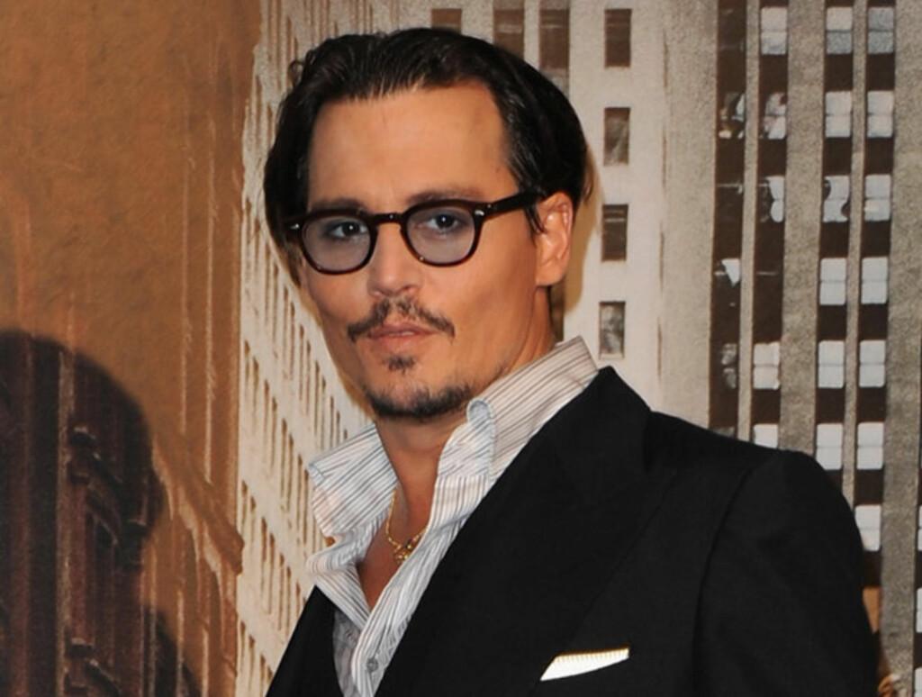 TRONER PÅ TOPPEN: Johnny Depp går av med seieren. Dette er sjette gang Depp kåres til «dem mest ettersøkte kjendisen». Foto: All Over