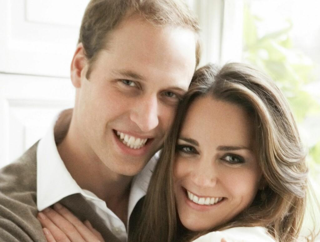 GLØDER AV LYKKE: Det er liten tvil om at William og Kate er stormforelsket. Foto: All Over Press