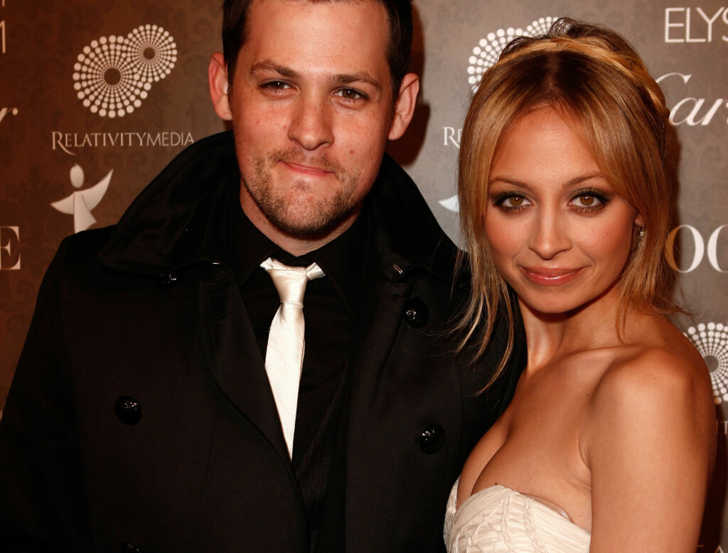 GIFT: Joel Madden og Nicole Richie. Foto: All Over Press