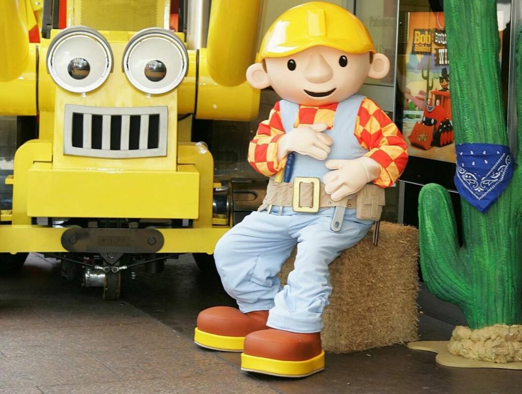 BARNAS HELT: «Byggmester Bob» har blitt en hit både blant engelske og norske barn. Men det spørs om sjefene bak TV-serien er spesielt glade for den siste opptredenen til Neil Morrissey, som er Bobs stemme. Foto: All Over Press