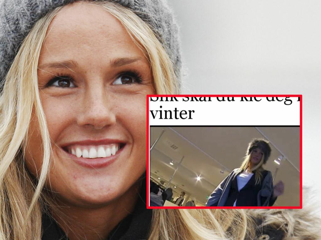 ANGRER: - Jeg er helt imot pels, og bortsett fra noen få plagg med fuskepels har jeg ingen pelsplagg selv, sier Rachel Nordtømme, som stilte i kaninpels i en video på nettsidene til Adresseavisen. Foto: Scanpix