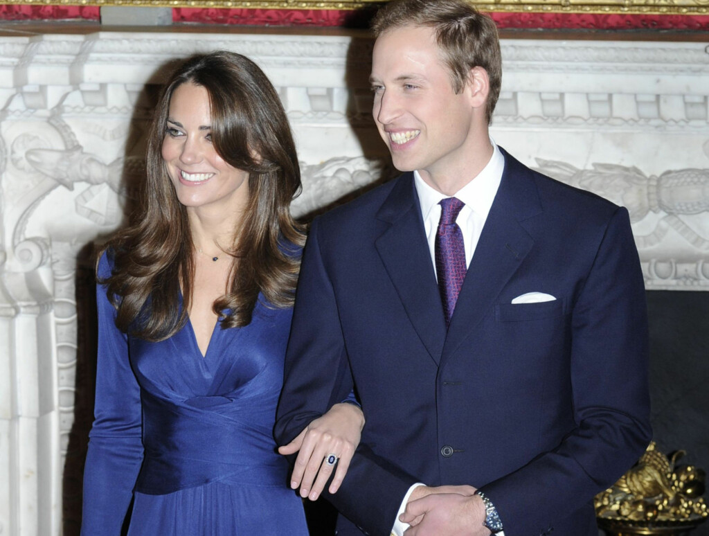 SIN MORS RING: Kate Middleton ble gitt prinsesse Dianas forlovelsesring av prins William. Foto: Reuters