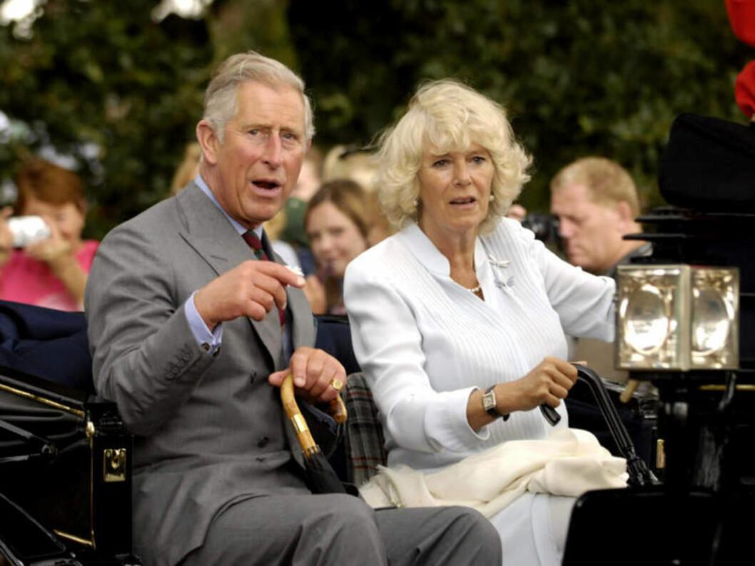 <strong>KAN BLI DRONNING:</strong> Prins Charles kone, Camilla, kan bli dronning. Det antyder Charles. Foto: Stella Pictures
