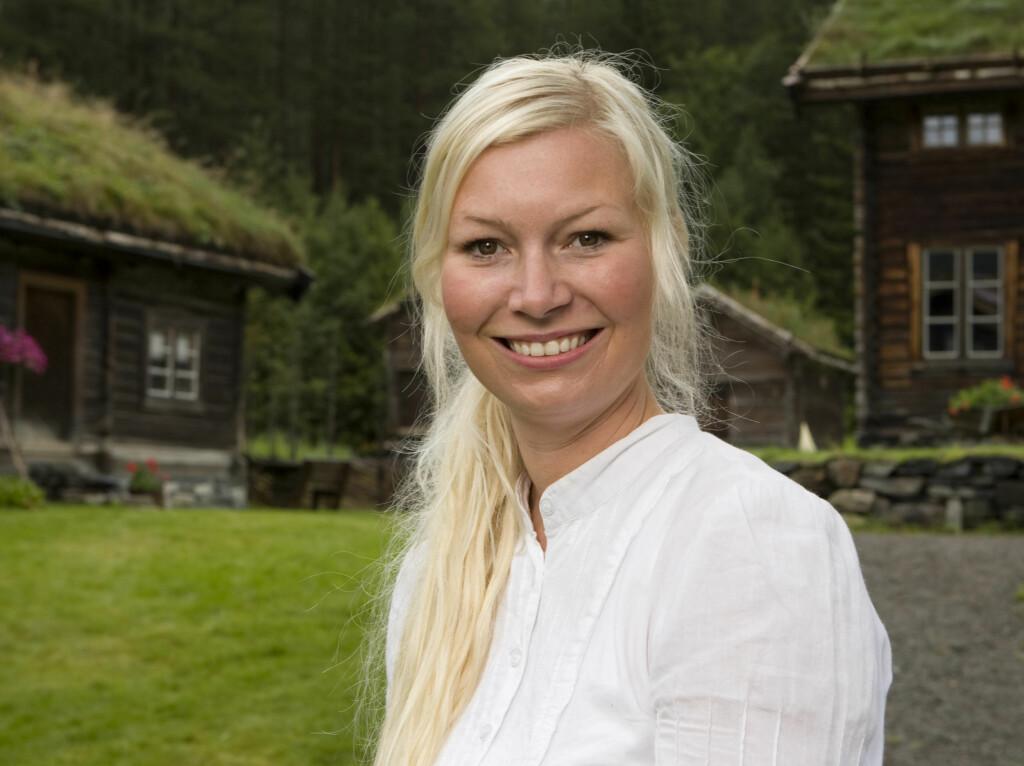 STORMFORELSKET: Silja Bjørnsen har funnet den store kjærligheten i rørleggeren Vidar. Foto: Odd-Steinar Tøllefsen/TV 2
