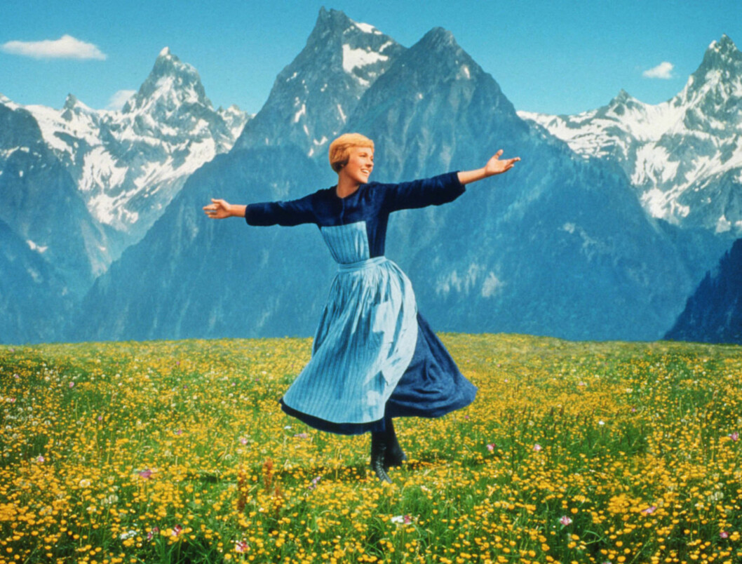KLASSIKER: Julie Andrews vil for mange alltid bli husket for rollen som Maria i klassikeren «The Sound Of Music». Foto: GNS
