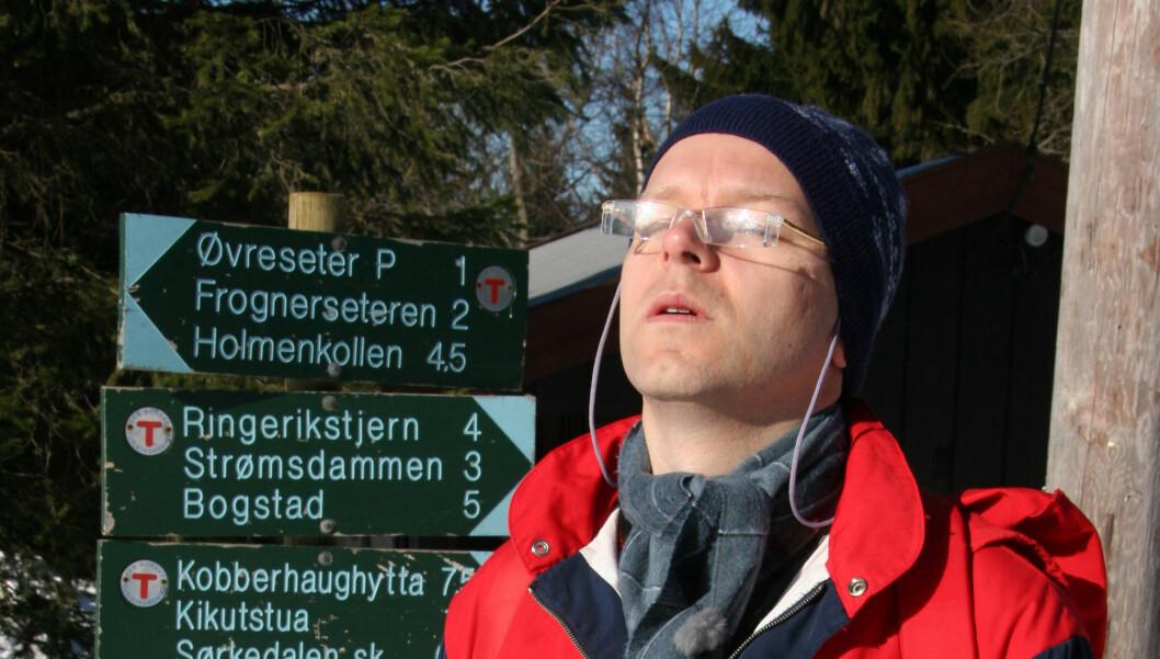 TV 2-nøttene - sesong 5 - påsken 2006 - påskenøtter - Espen Eckbo som Asbjørn Brekke.