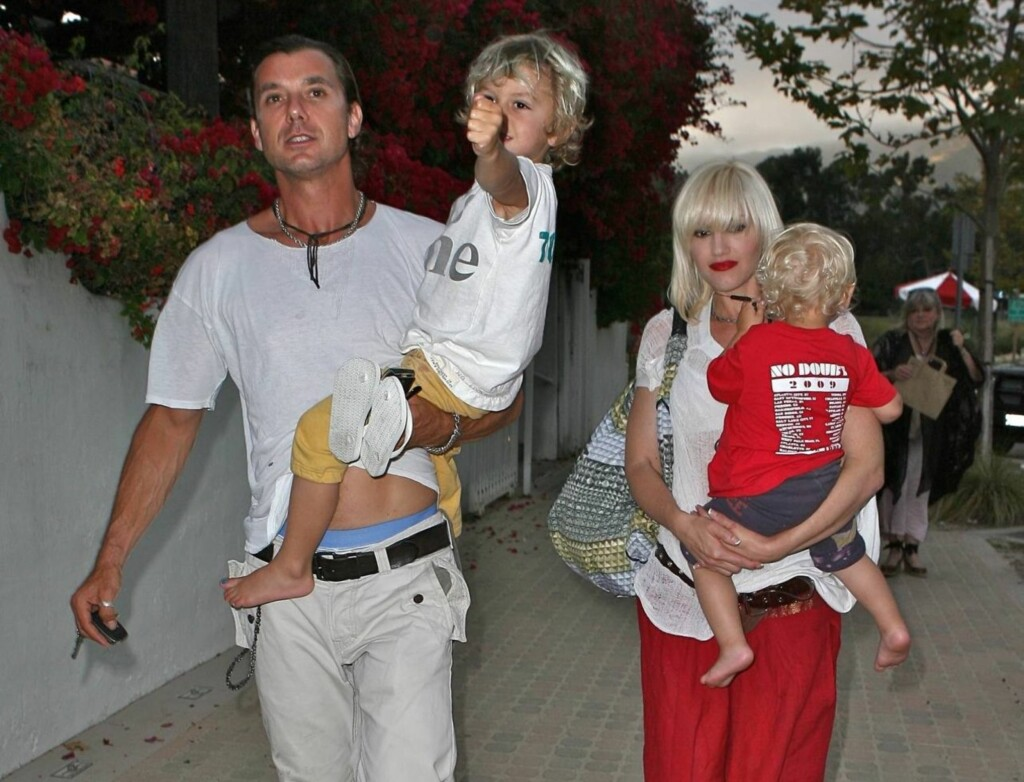 FAMILIEMANN: I dag er Gavin Rossdale lykkelig gift med Gwen Stefani. Sammen har paret to sønner, Zuma og Kingston.  Foto: All Over Press