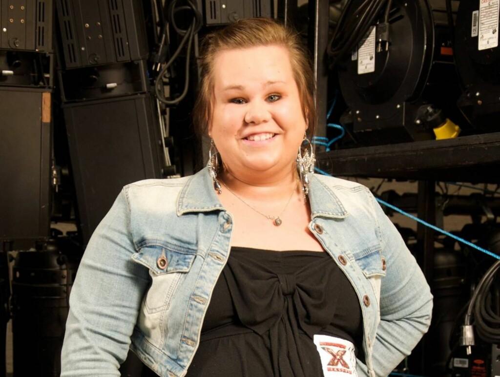 TØFF TID: Ingrid Haukland ble født med kreft i begge øynene. Foto: TV 2