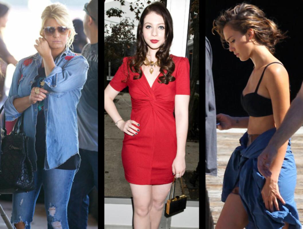 <strong>TUNG TID:</strong> Jessica Simpson, Michelle Trachtenberg og Jessica Alba ble mobbet i ungdomsårene. Foto: All Over Press