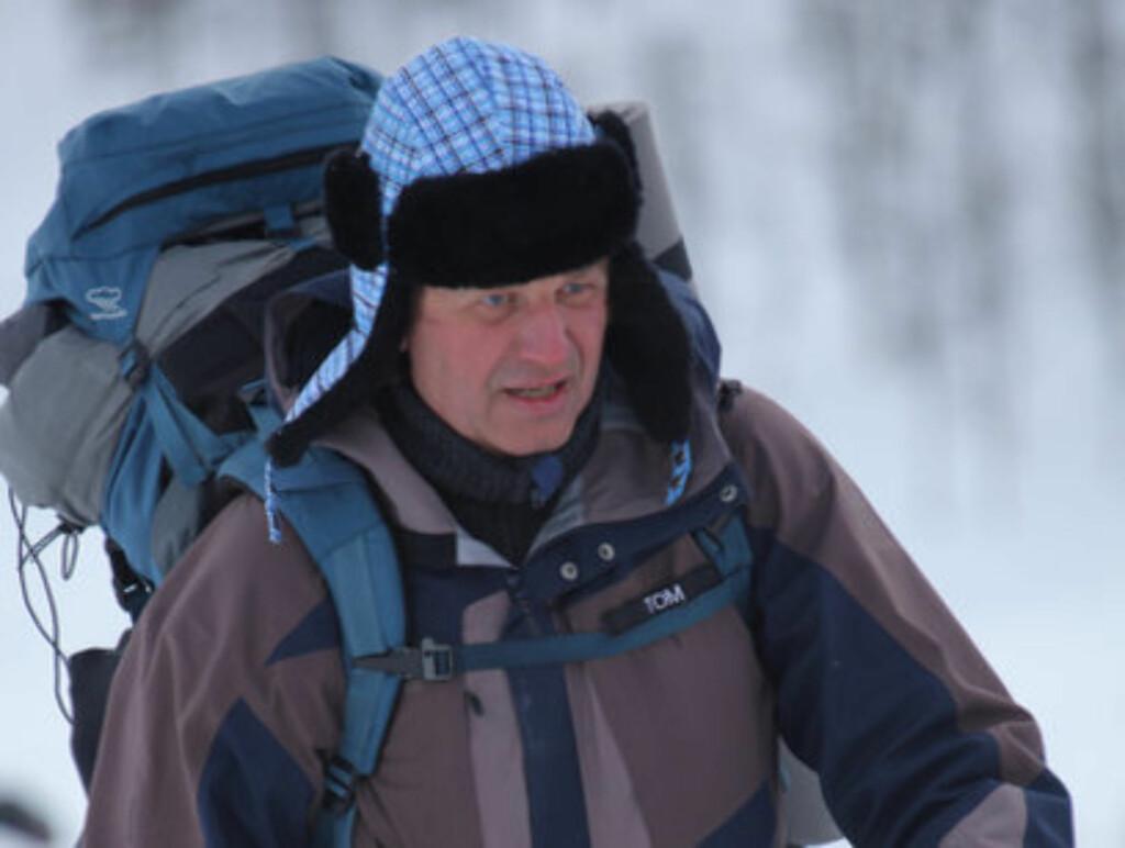 NED 12 KILO: - Jeg så på pulsklokka at jeg forbrant opp mot 9000 kalorier under turene i 71 Grader Nord, så det sier seg selv at det var ganske tøffe turer, sier Tom Sandstad til Seher.no.  Foto: TVNorge