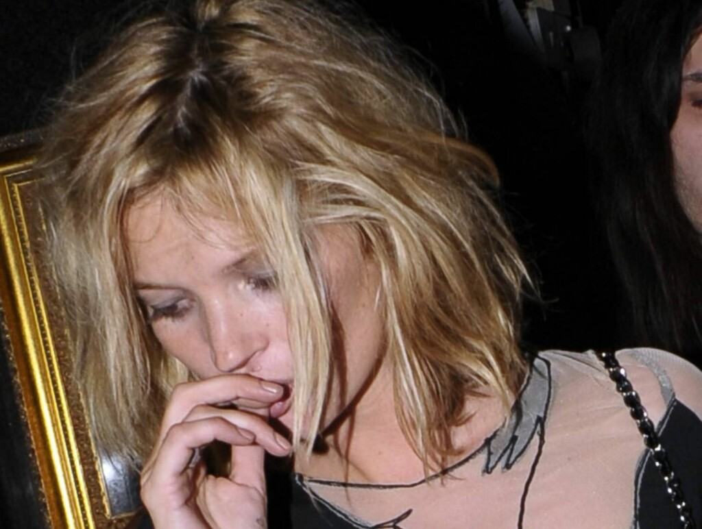 FORANDRER LIVSSTIL: Kate Moss er ferdig med partylivet. Foto: All Over Press