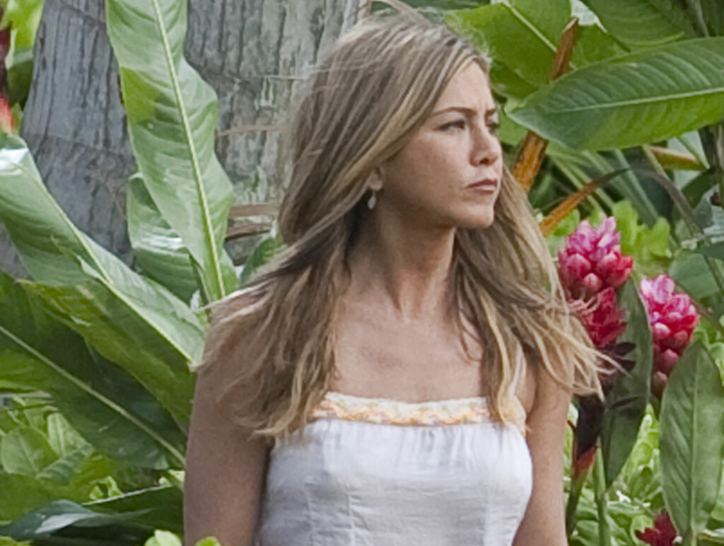 LEI RYKTENE: Jennifer Aniston har sett seg lei på skriverier og spekulasjoner om at hun er gravid. Foto: All Over Press