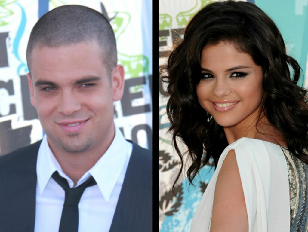 NYTT PAR? Det spekuleres i om Mark Salling er sammen med Selena Gomez. Foto: All Over Press
