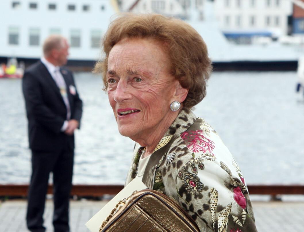 GIKK BORT: Grevinne Ruth av Rosenborg gikk bort. Foto: SCANPIX