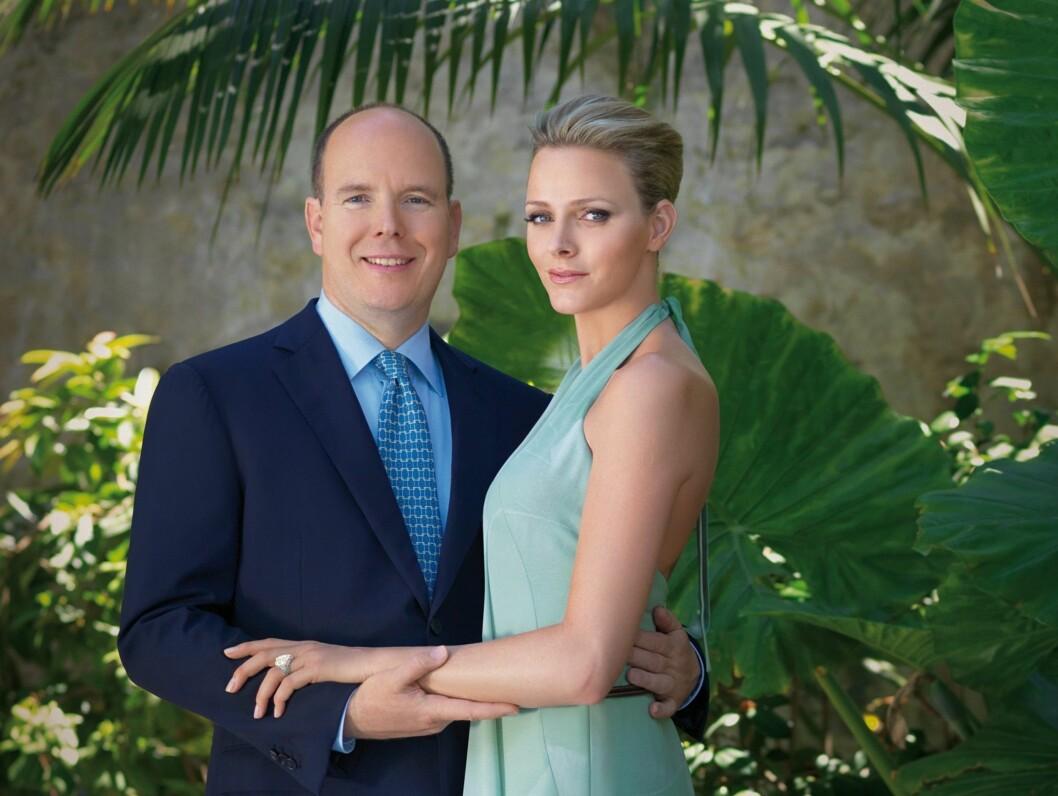 TODAGERS BRYLLUP: Fyrst Albert og hans Charlene Wittstock gifter seg 8. og 9. juli neste år, og gifter seg både borgelig og religiøst. Foto: Stella Pictures