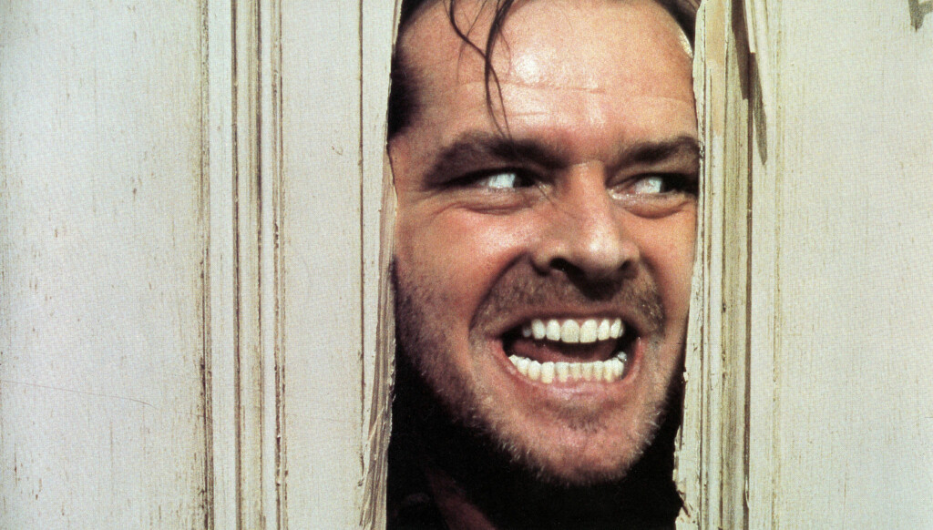 1980-01-01 The Shining. Original Film Title: The Shining, PICTURED: JACK NICHOLSON, Director: Stanley Kubrick, Photo: WARNER BROTHERS/Entertainment Pictures/ Zuma Press. Code: 4014 COPYRIGHT STELLA PICTURES Foto: Stella Pictures