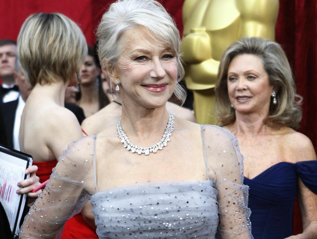 PROSTITUERT: Helen Mirren sammenligner det å være skuespiller med å være prostituert. Foto: REUTERS