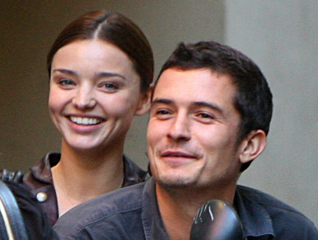 FORLOVET: Orlando Bloom og Miranda Kerr har forlovet seg. Foto: All Over Press