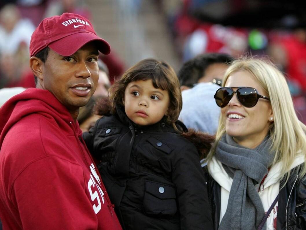 VENTER KAMP: Elin Nordegren ønsker full omsorgsrett for barna, men Tiger Woods kommer ikke til å gi opp barna uten kamp. Foto: All Over Press