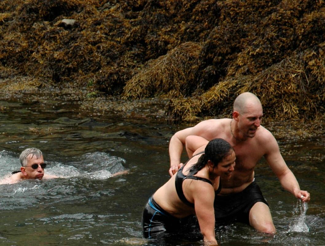 <strong>GIKK NED 55 KG:</strong> Signe Harriday fra «Alt for Norge» gikk kraftig ned i vekt for noen år siden.  Foto: TVNorge