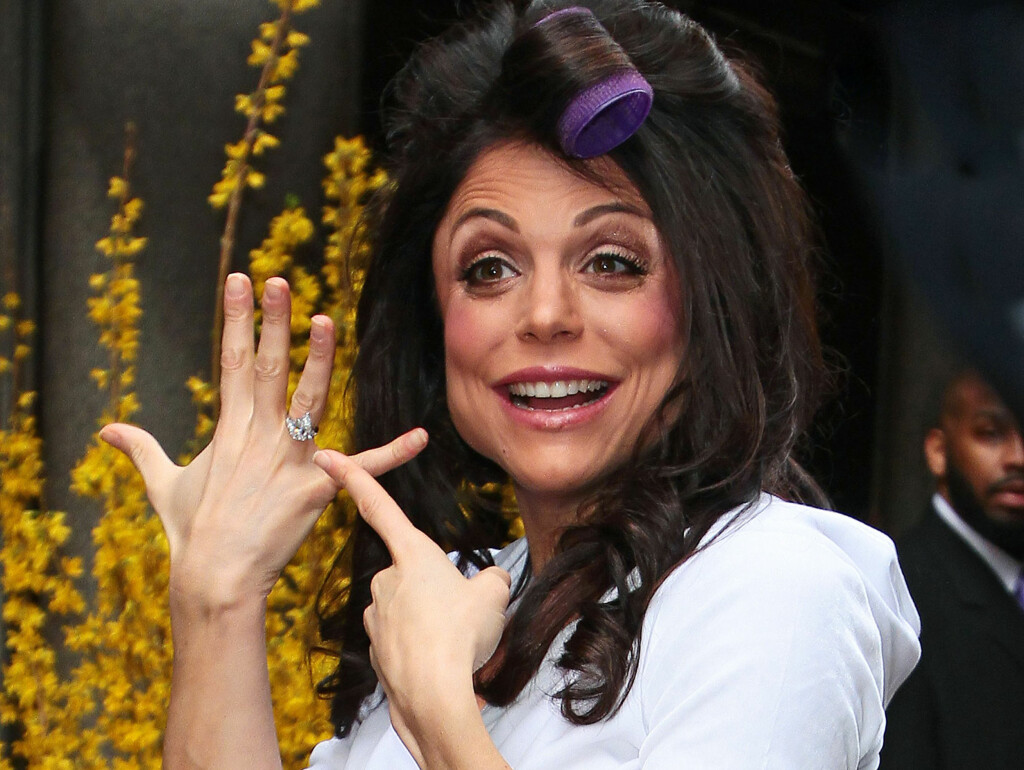 GIFTET SEG: Bethenny Frankel giftet seg for en måned siden i joggebukse. Foto: All Over Press