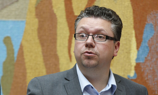 GLEDELIG: Ulf Leirstein (Frp) tror Oslo-kriminaliteten stuper på grunn av uttransportering av straffedømte. Foto: Vidar Ruud / NTB scanpix