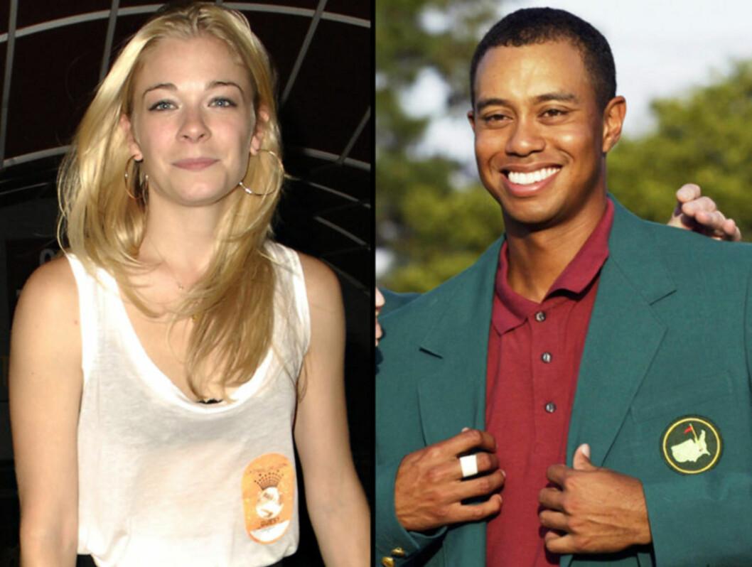 DATET: LeAnn Rimes datet tidligere Tiger Woods. Foto: Stella Pictures / All Over Press