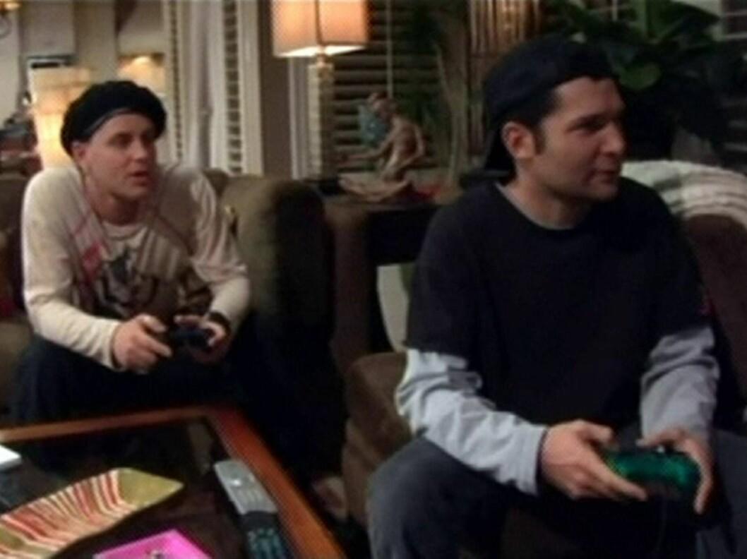 """GJORDE COMEBACK: I 2007 spilte 80-talls stjernene Corey Haim (t.v) og Corey Feldman inn realityserien """"The Two Coreys"""", men serien ble kansellert i 2008 og duoen brøt kontakten på grunn av Haims narkotikaproblemer. Foto: All Over Press"""