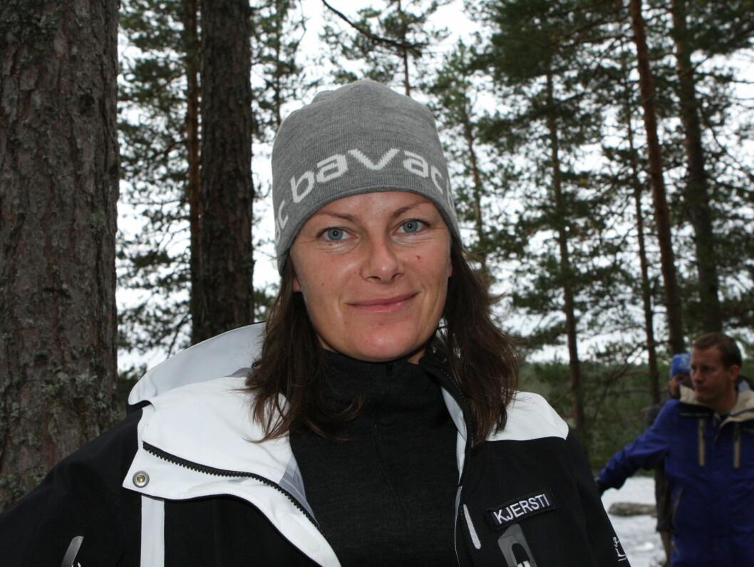 """<strong>SINT:</strong> Kjersti Grini irriterte seg stort over Lillian Müller under """"71 Grader Nord"""". Men etterhvert ble de gode venner. Foto: TVNorge"""