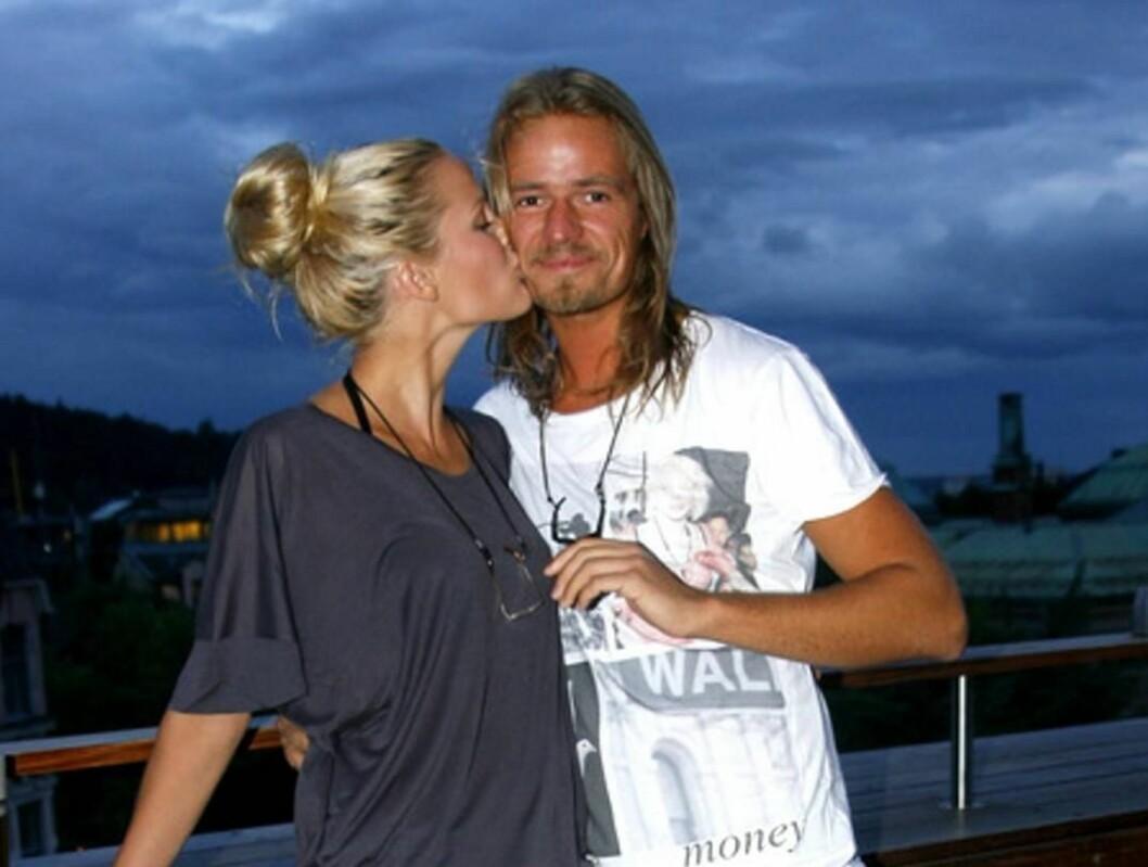 FIKK EN DATTER: Maria Skappel og kjæresten Andreas Holzweiler ble i januar foreldre til en liten jente. Foto: Stella