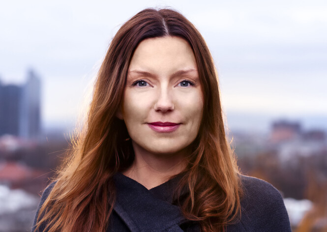 BARNA SLAPP Å FLYTTE: - Det var jo ikke deres skyld at vi skilte oss, sier Vibeke Riiser-Larsen. Foto: Niklas Lello