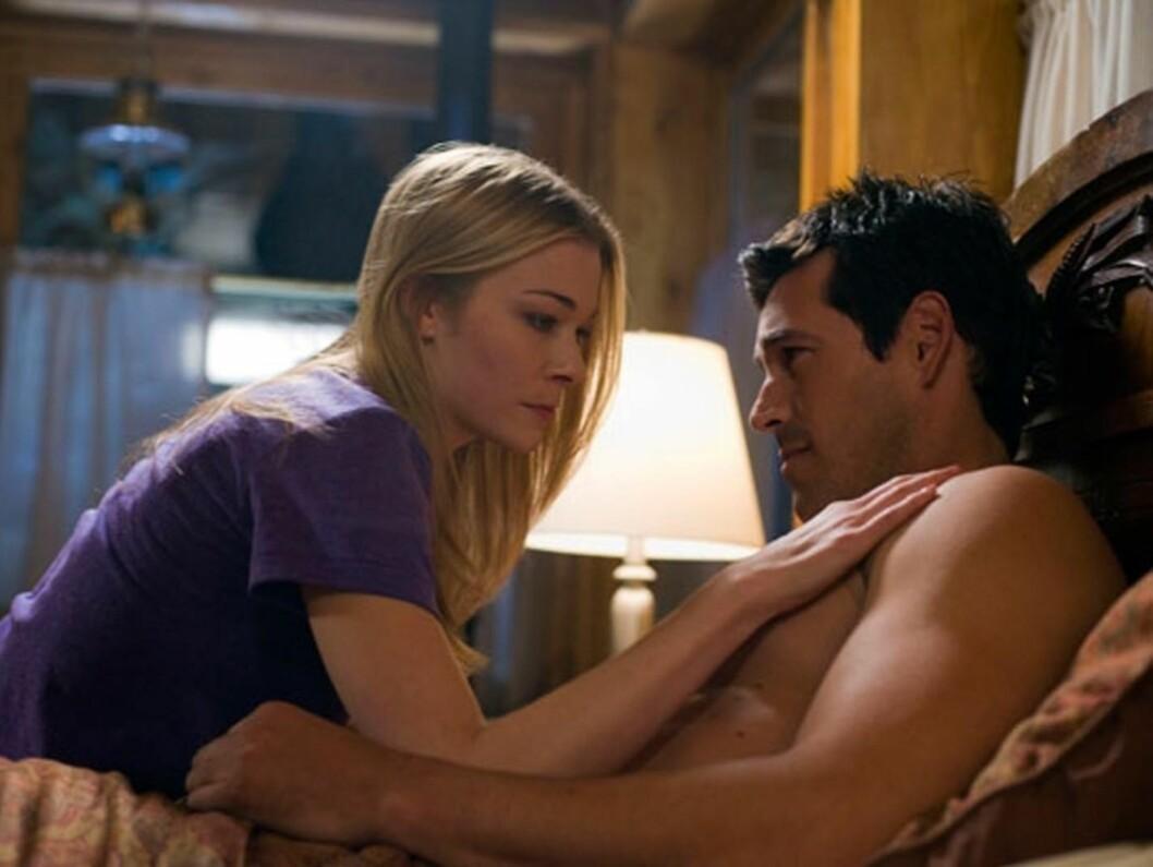 """SPILTE SAMMEN: Det forelskede paret var motspillere i filmen """"Northern Lights"""", som ble publisert våren 2009. LeAnn var da fremdeles gift med Dean Sheremet. Foto: Stella Pictures"""
