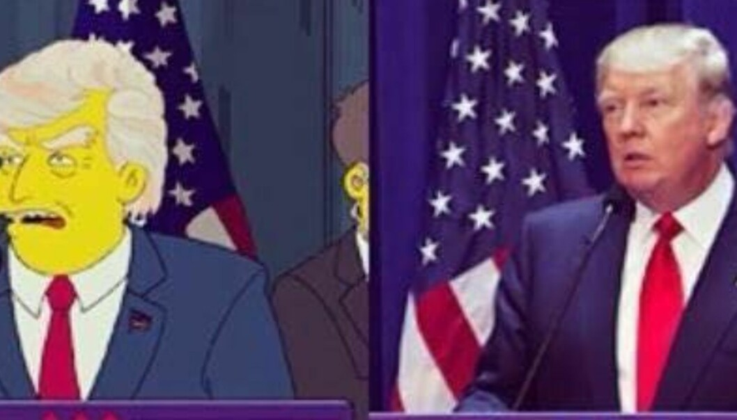 Skaperne av «The Simpsons» spådde Trumps presidentskap for 16 år siden